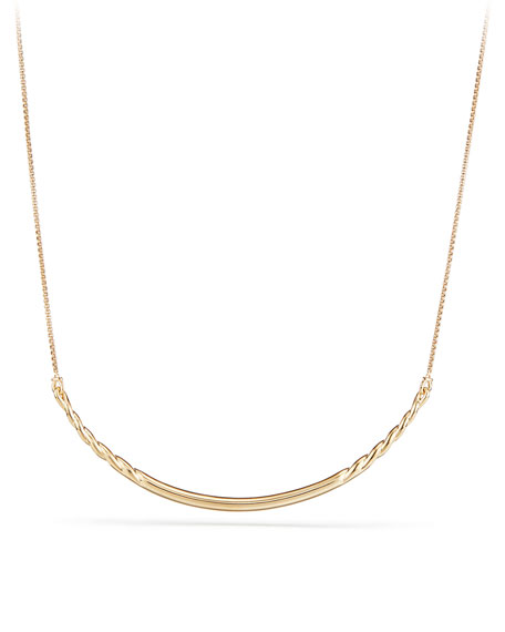 Pure Form 18K Gold Collar Necklace