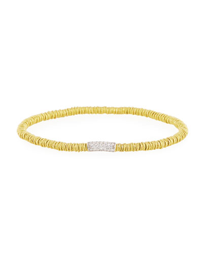 Small Joy 18K Gold Bracelet with Diamonds