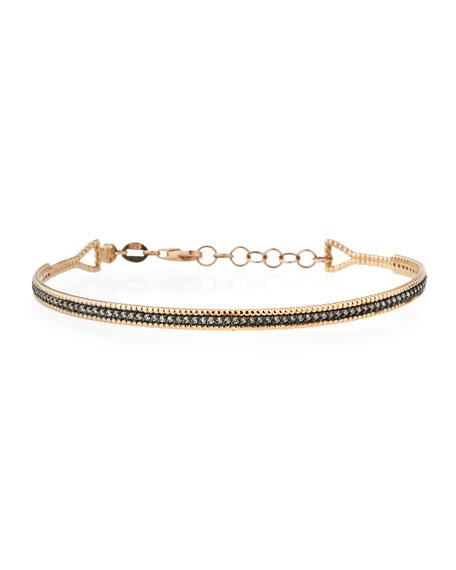 Kismet by Milka Single Bar Bracelet with Champagne