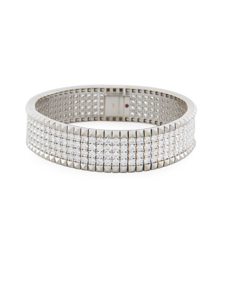 Roberto Coin Rock & Diamonds 18K White Gold