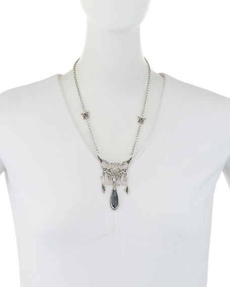 Specular Hematite Pendant Necklace