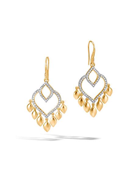 John Hardy Legends Naga Earrings with Diamonds DkLhUMhz