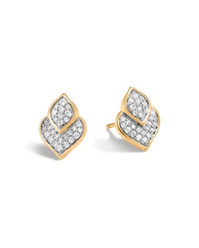 Legends Naga Earrings with Diamonds
