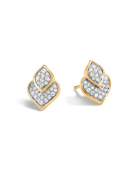 Legends Naga Earrings with Diamonds