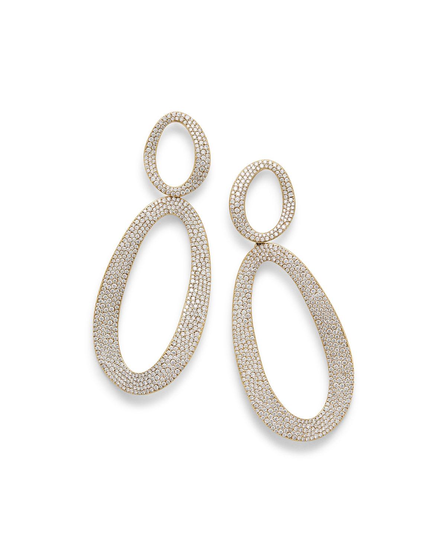 Ippolita 18k Glamazon Thin Elongated Earrings swSK82Ao