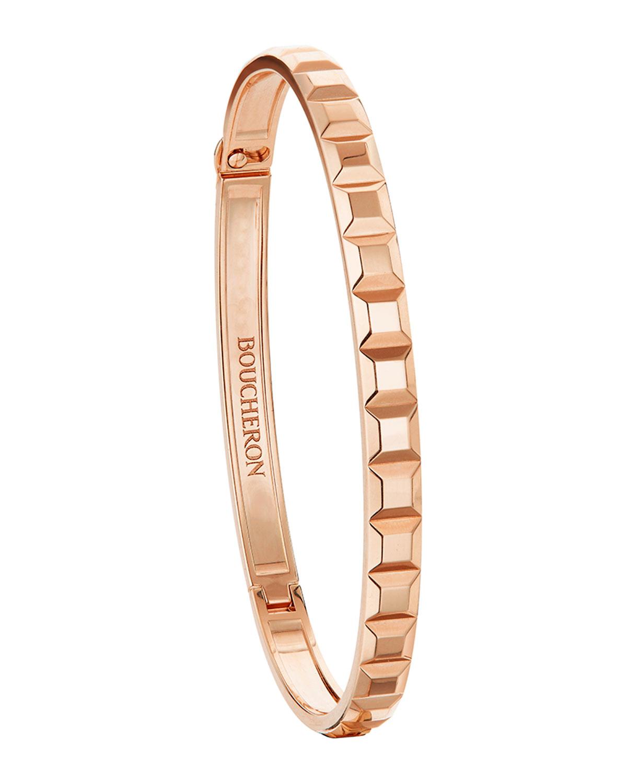 Quatre Clou De Paris Bracelet In 18k Rose Gold