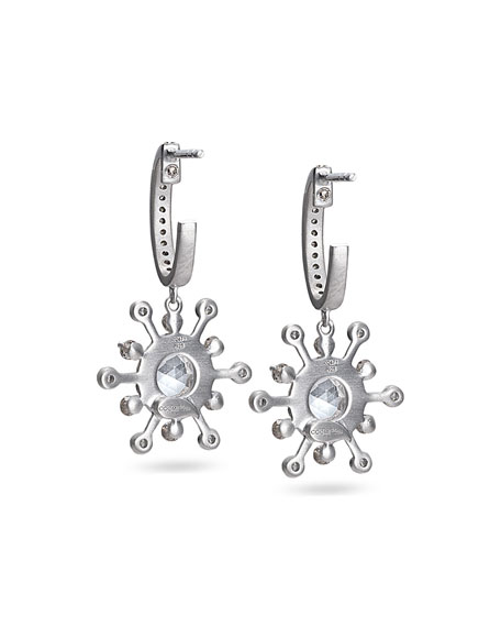 Affinity Smoky Quartz & Diamond Earrings