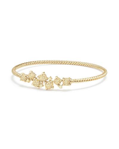 Petite Châtelaine 18K Gold Bracelet with Yellow Diamonds