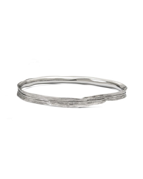 Palm Wide Bangle Bracelet