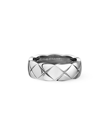 COCO CRUSH RING IN 18K WHITE GOLD, SMALL VERSION