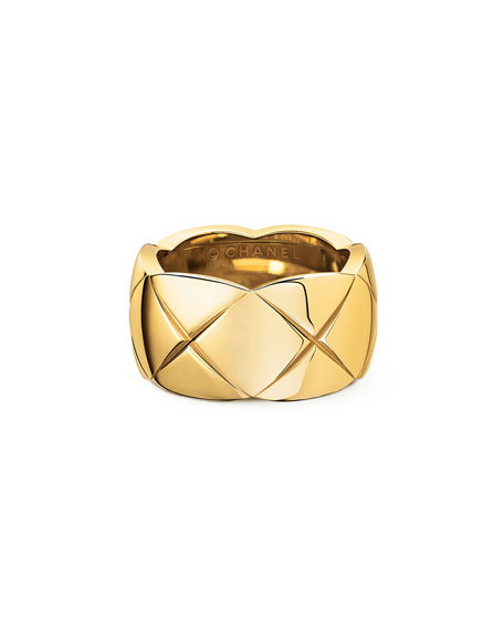 COCO CRUSH RING IN 18K YELLOW GOLD, MEDIUM VERSION