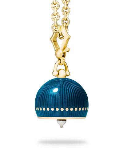 #5 Enamel Meditation Bell Charm