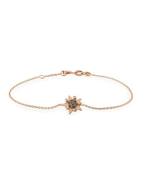 Eclectic Star Champagne Diamond Star Bracelet