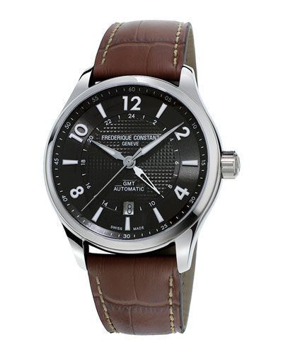 42mm Men's Runabout Automatic GMT Watch