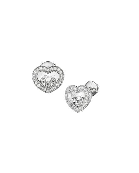 Hy Diamonds Icon Heart Earrings
