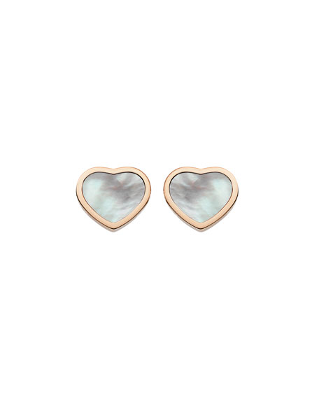 Happy Hearts Mother-of-Pearl Stud Earrings