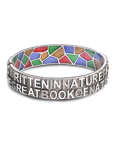 Sagrada Familia 12mm Bangle Bracelet with Diamonds