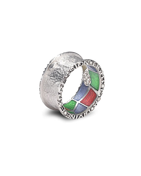 Sagrada Familia 10mm Band Ring, Size 8