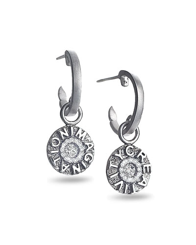 Sagrada Familia Creativity & Imagination Drop Earrings with Diamonds