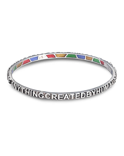 Sagrada Familia Sterling Silver Bracelet