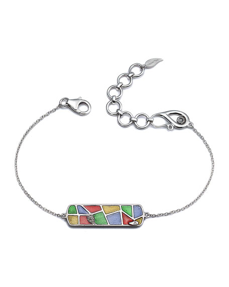 Sagrada Familia Passion ID Bracelet with Diamond