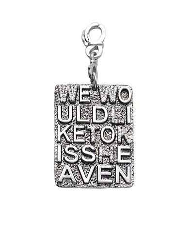 Sagrada Familia We Would Like to Kiss Heaven Pendant