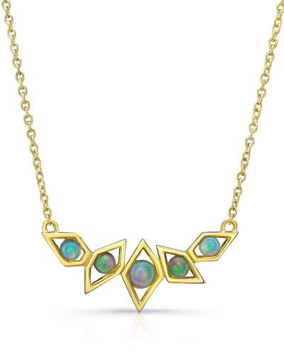 Birds of Paradise Opal Necklace