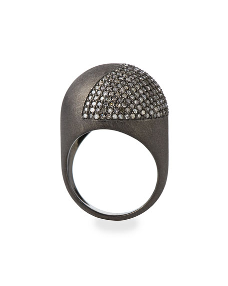 Diamond Ball Ring, Size 7