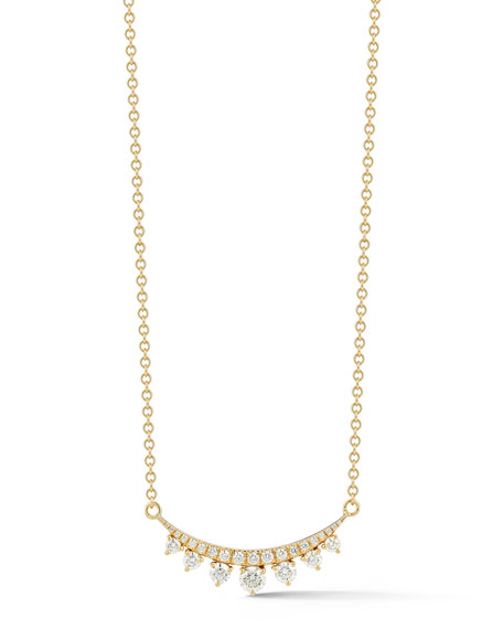 Prive Luxe Diamond Bar Necklace