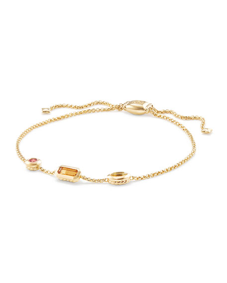 Novella 18k Chain Bracelet, Yellow