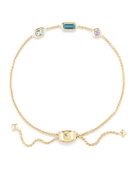 Novella 18k Chain Bracelet, Multicolor