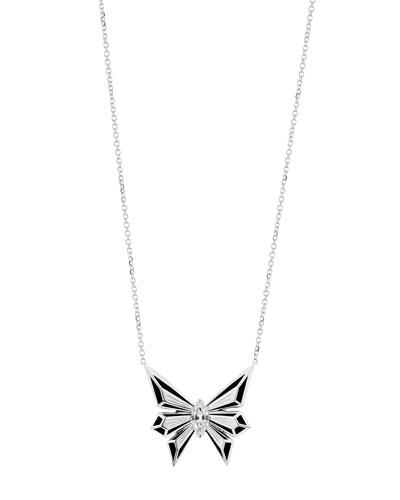 Fly by Night 18k Diamond Pendant Necklace