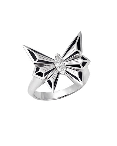 Fly by Night Marquis Diamond Ring, Size 6