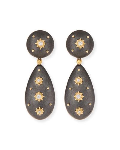 18k Macri Diamond Drop Earrings