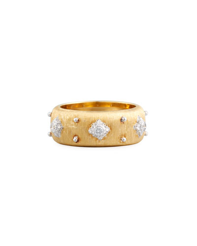 18k Eternelle Diamond Ring, Yellow Gold