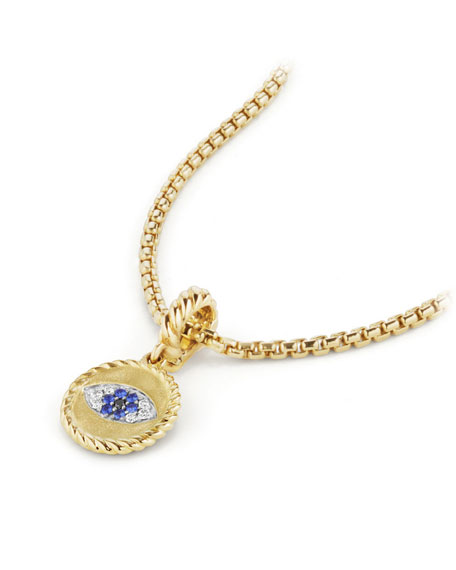 18k Diamond Evil Eye Charm Enhancer