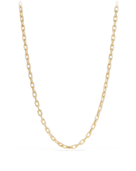 "18k Madison Bold Chain Link Necklace, 18""L"