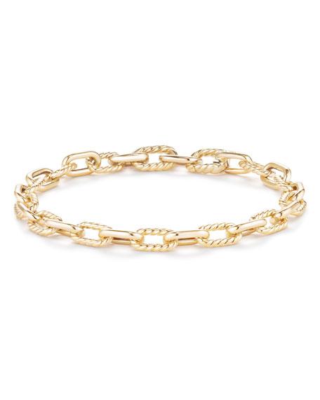 18k Madison Bold Chain Link Bracelet, Size Small