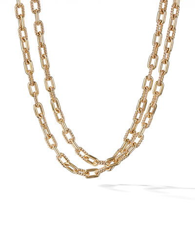 18k Madison Bold Chain Link Necklace, 36