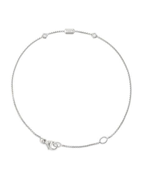 Novella 18k Chain Bracelet w/ Diamonds