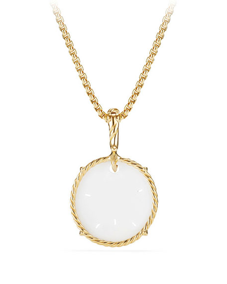 18k Sand Dollar Charm Enhancer
