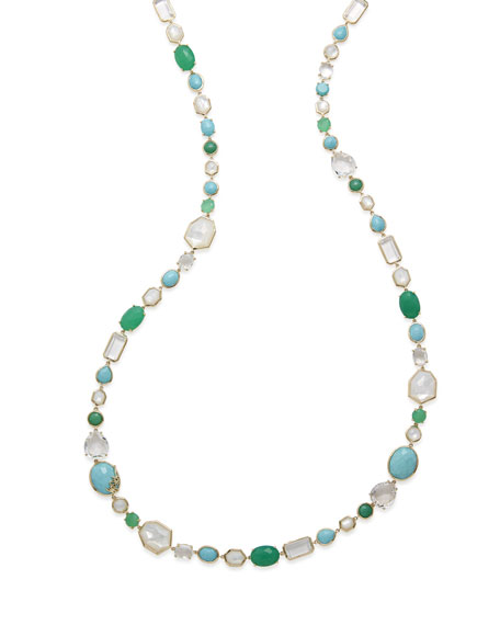 18k Rock Candy® Sofia Stone Necklace in Pacific, 40""