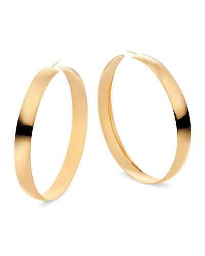 14k Curve Hoop Earrings