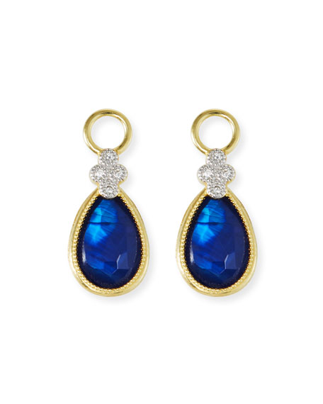 18k Provence Doublet Earring Charms