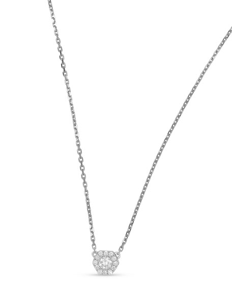 Frederic Sage 18k Firenze II Hexagon Diamond Pendant
