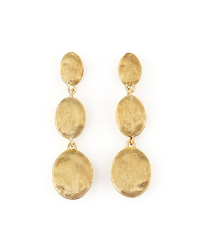 Siviglia 18K Gold Drop Post Earrings