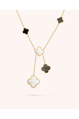 Van Cleef & Arpels Magic Alhambra Necklace, 6 Motif