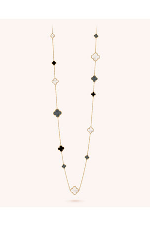 Van Cleef & Arpels Magic Alhambra Necklace, 16 Motif
