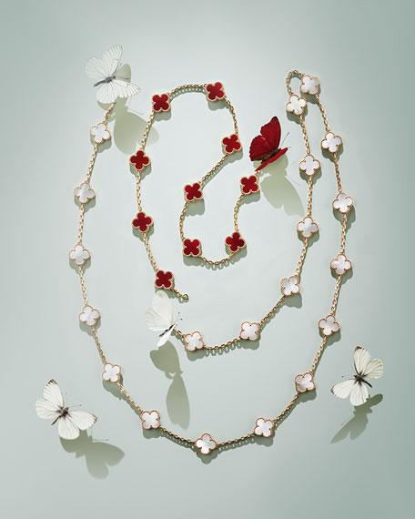 Vintage Alhambra Necklace, 10 Motifs