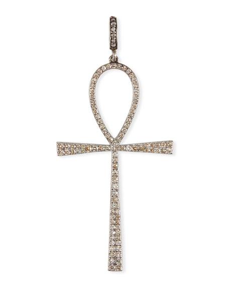 Margo morrison diamond ankh pendant neiman marcus diamond ankh pendant mozeypictures Image collections